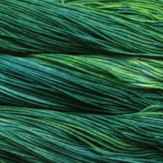 malabrigo green